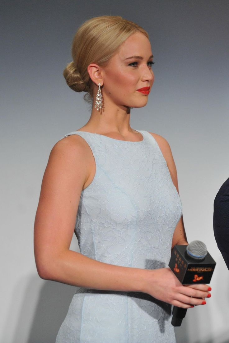 WHO: Jennifer Lawrence WHERE: The Hunger Games: Mockingjay, Part 2 premiere, Beijing WHEN: November 12, 2015
