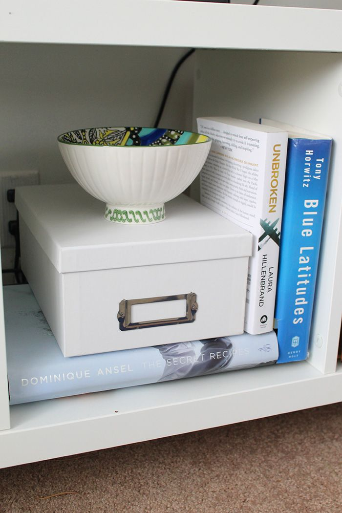 How To Hide An Unsightly Cable Box Hide Cable Box Cable Box