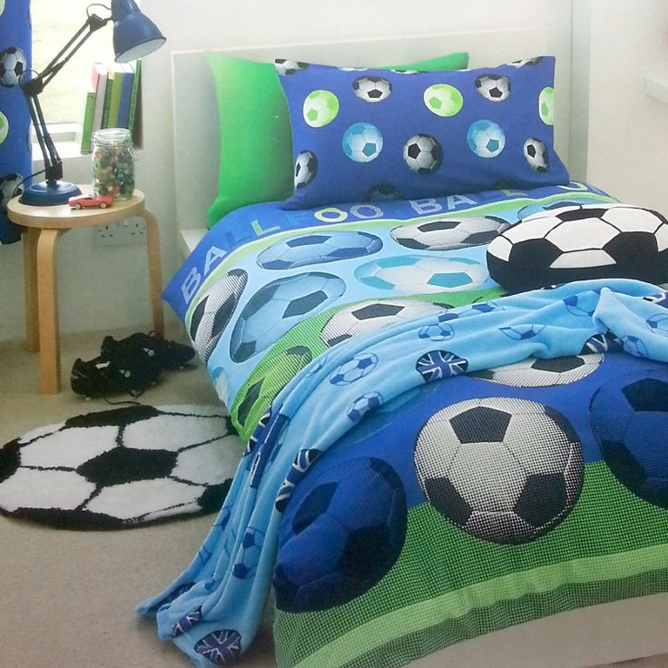 1000 id es sur le th me couette football sur pinterest. Black Bedroom Furniture Sets. Home Design Ideas