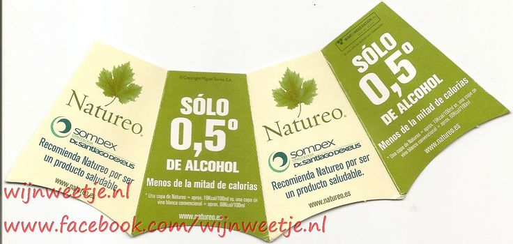 But 0.5% alcohol and low in calories ./Maar 0,5% alcohol en weinig calorieën