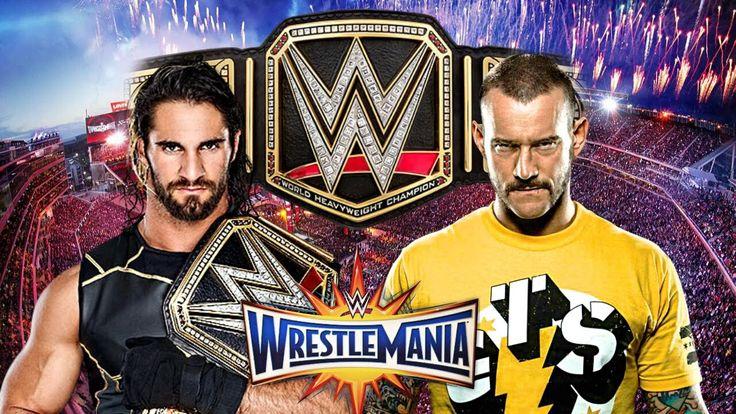 WWE WrestleMania 33 Dream Match Card HD - YouTube