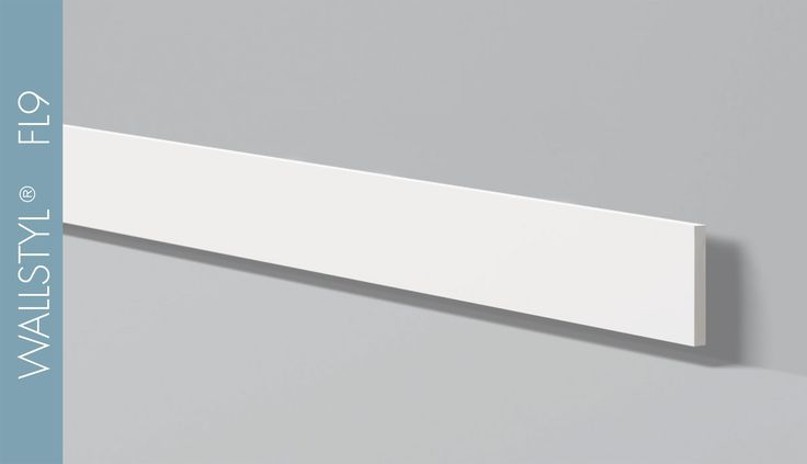 WALLSTYL® FL9 / H 100 mm W 8 mm #nmcgroup #architecturedesign #wallstyl #baseboard