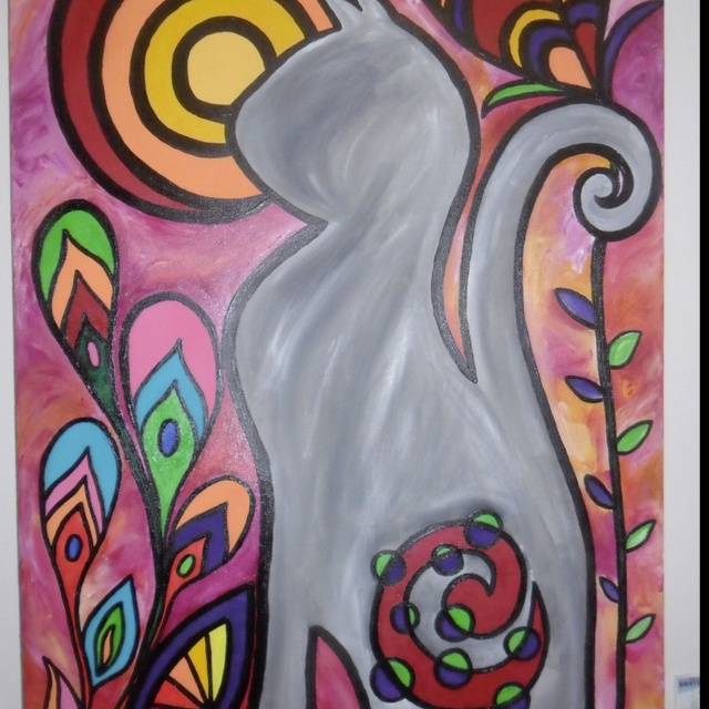 One of my paintings!!