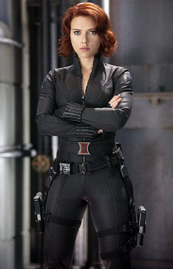 Scarlett Johansson Diet and Fitness Routine For The Avengers - she was pretty bad a$$ in this movie!