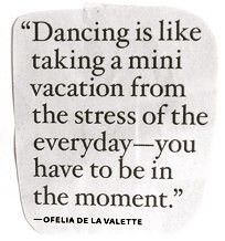 Dancing sayings-experiment
