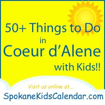 50+ Fun Things to Do with Kids in Coeur d'Alene Idaho #coeurdalane #thingstodowithkids