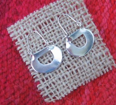 aros mapuches en plata