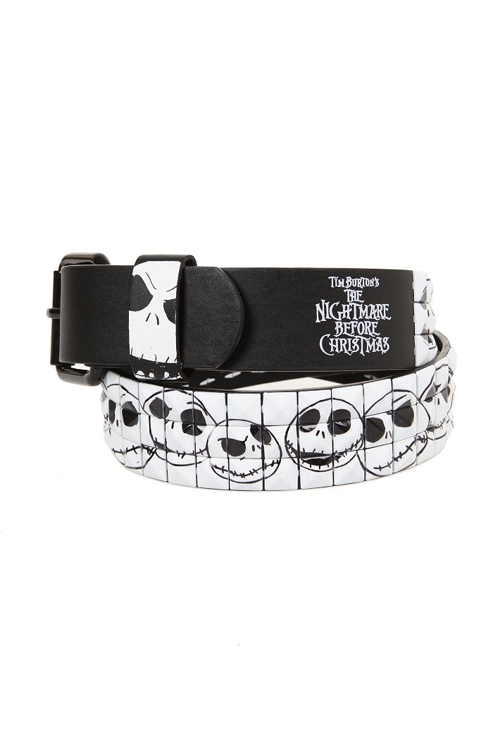 The Nightmare Before Christmas Stud Belt