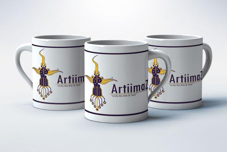 ArtiimaZ ™ Pvt. Ltd.  #artiimaz #art #creativity #cup #branding #company