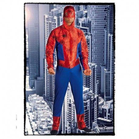 Disfraces Personajes hombre | Disfraz de hombre araña. Combate el mal con este disfraz de tu super héroe favorito. Compuesto de buzo completo con capucha. Talla M/L. 17,95€ #hombrearaña #disfrazhombrearaña #disfraz #superheroe #disfrazpersonaje #disfraces