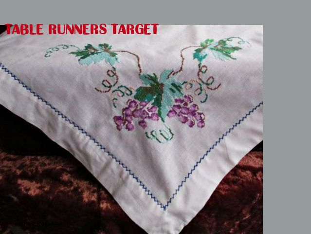 Best Linen Embroidery Tablecloth Images On Pinterest - Target table linens