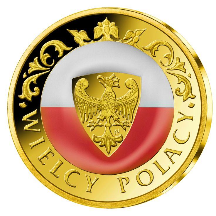 Rewers medalu z Józefem Piłsudskim - po raz pierwszy dzięki zastosowaniu najnowszej technologii, uszlachetniony emalią w barwach narodowych.