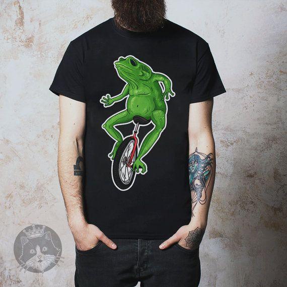 Dat Boi  Unicycle Frog  Meme  Shirt by KippCreations on Etsy