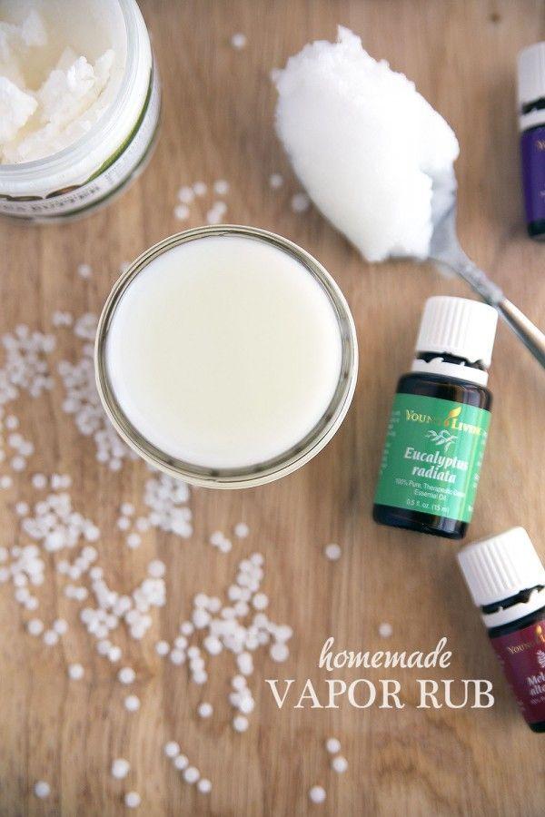 Homemade Menthol Vapor Rub Made with Essential Oils