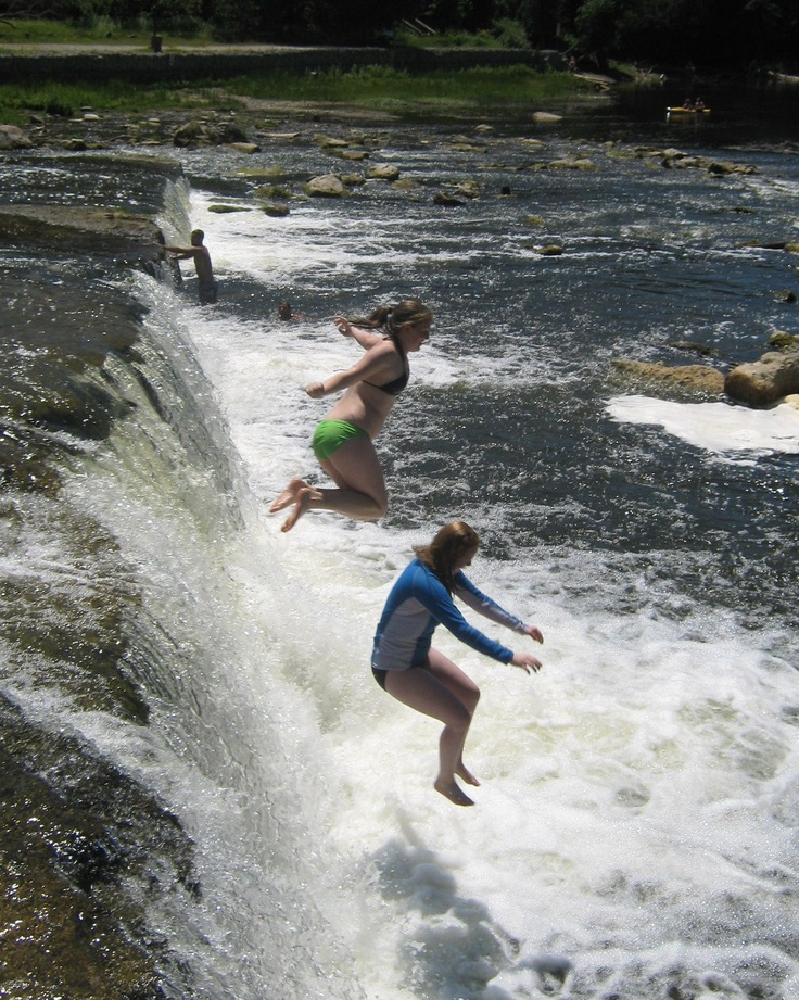 Sauble Falls, Ontario and I want to do this!