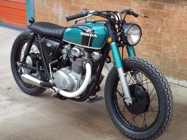 HONDA CB350 - VOODOO CUSTOM CYCLES - HELL KUSTOM