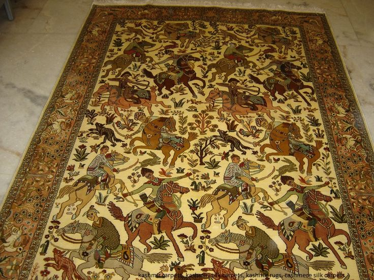 Silk Carpets Manufacturers, Silk Rugs Suppliers India, Kashmiri Silk Rugs,  Cashmere Silk Carpets: Silk Carpets From Kashmir
