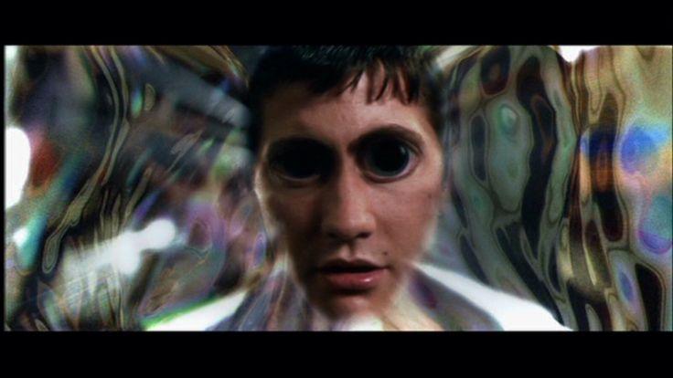 Time travel in Donnie Darko.  Jake Gyllenhaal at his best!!