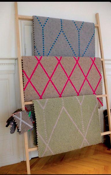 Hay carpets