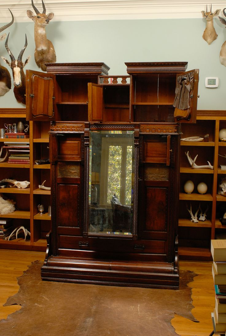 Rare Murphy Bed of Mahogany, New York, circa 1885