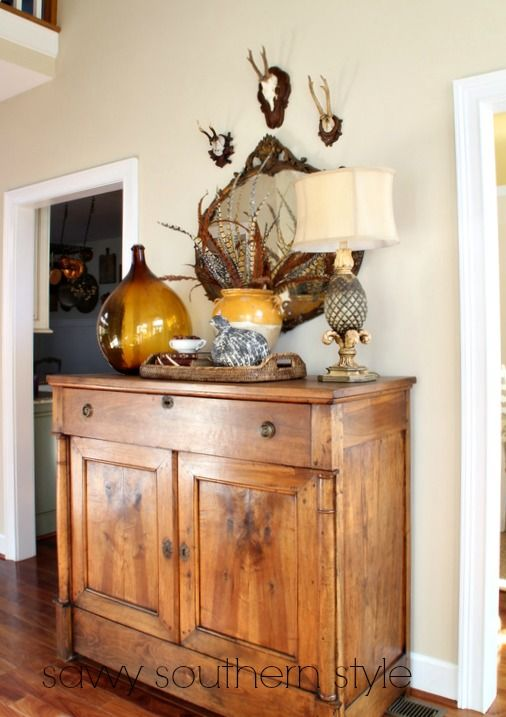 Savvy Southern Style: The Last Fall Vignette                                                                                                                                                                                 More
