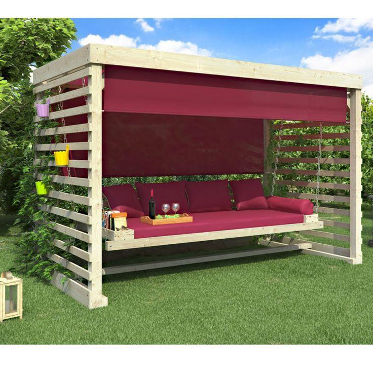 Wooden Swing Tiffany Wooden Garden Swing Swing Garden furniture 4 seater  #furni...