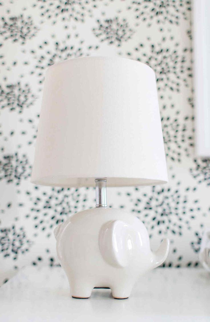 Stacked elephant lamp - Adorable Mini Elephant Lamp