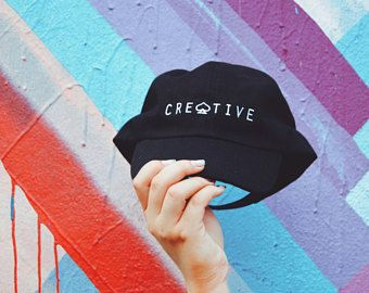 Creative Black Dad Hat