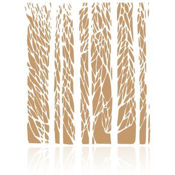 stencil,plantilla,fondo,bosque,arboles