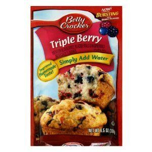 Betty Crocker Blueberry Muffin Mix 64 Oz Packet Pack of 6 Blueberry -- Visit the image link more details.(This is an Amazon affiliate link and I receive a commission for the sales)
