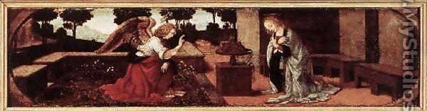 Anunciación 1478-1482 - Leonardo Da Vinci