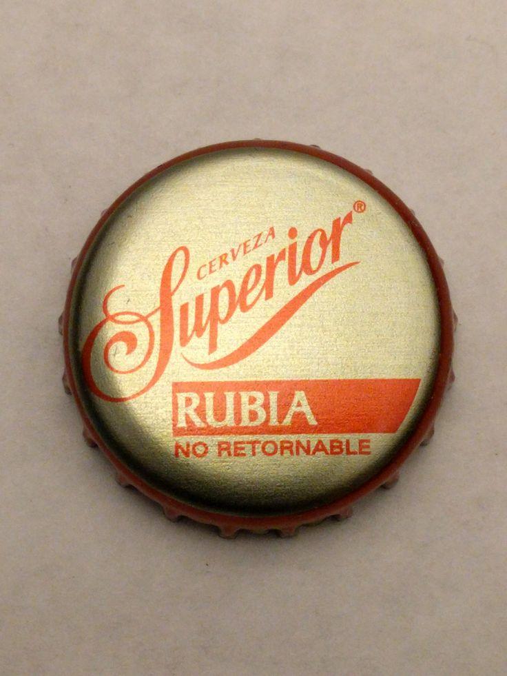 Cap#1  Cerveza Superior Rubia Cervecería Cuauhtémoc Moctezuma, S.A. de C.V.  Mexico Condition: Perfect