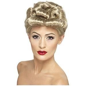 1940's Pinup hair snood. vintage, victory rolls, bow