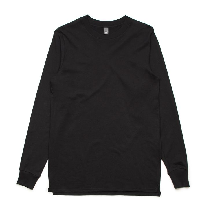 5029 Base Longsleeve Tee -- Black (medium)