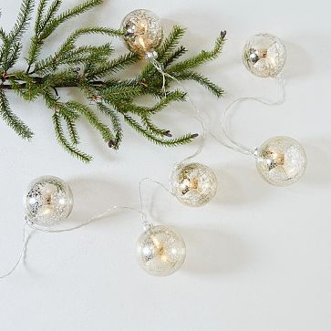 Mercury Ball Tree Lights #westelm