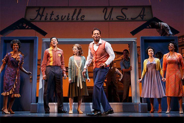"Brandon Victor Dixon (center) and the cast of ""Motown The Musical"". #broadway #TonyAwards #spotlight"