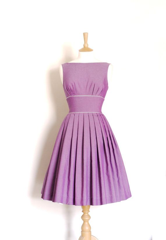 Bridesmaid Dress.  Customizable Vintage Style by digforvictory, £125.00