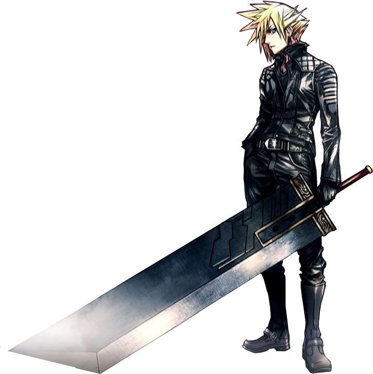 cloud from that bizarre motorcycle game