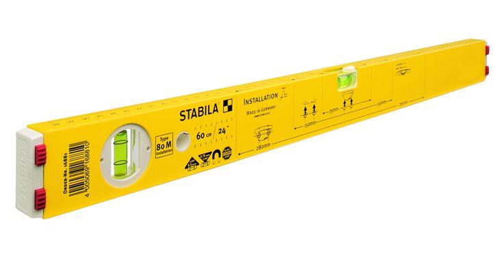 Poziomica instalacyjna STABILA<br>Typ 80 M Installation/100 cm