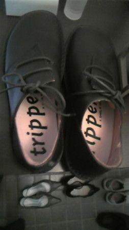 trippenの革靴。
