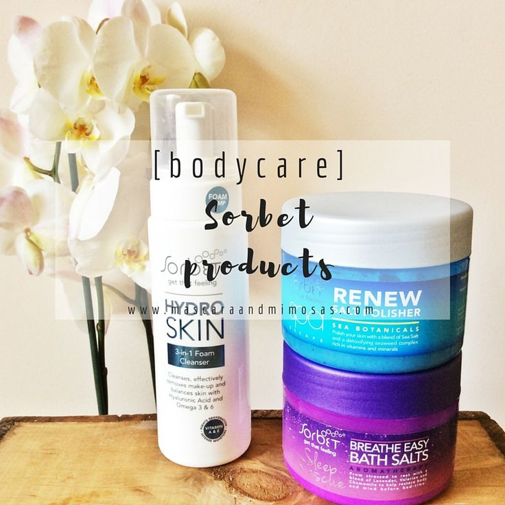[bodycare] : Sorbet products