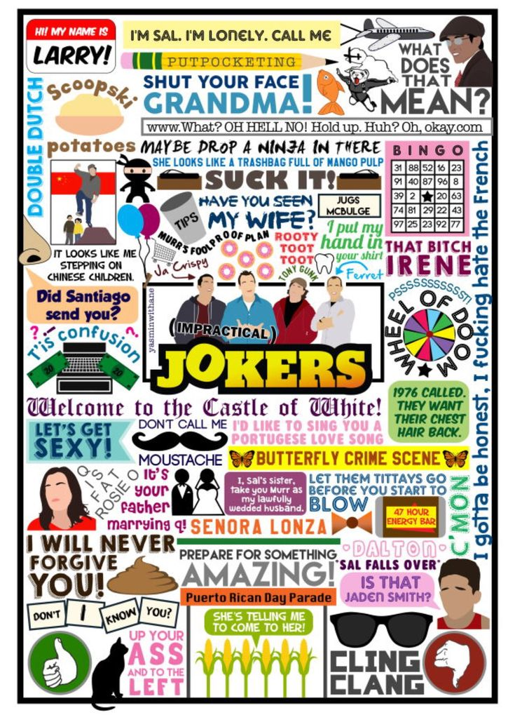 Impractical jokers this is so cool and funny ❤️