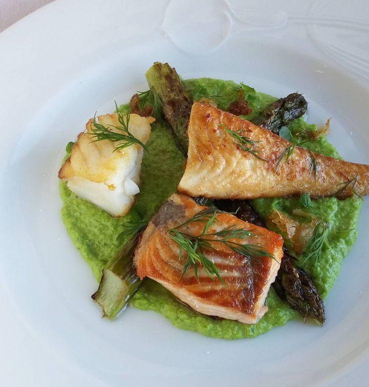 Turskaa haukea ja lohta. #kala #turska #lohi #hauki #itsetehty #ruokablogi #ruoka#kotiruoka #herkkusuu #lautasella #Herkkusuunlautasella#ruokasuomi