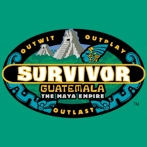 #survivor #popfunk #guatemala   This design is available as a Tshirt here: $21.00 http://www.popfunk.com/mens-tees/cbs-primetime/survivor/survivor-guatemala.html