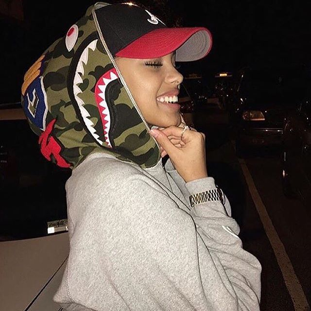 Bape Shark Hoodie #FREofficial Follow @FREchickz for the best women's fashion and style ! @FREchickz