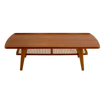 Classic Danish Modern Teak & Oak Coffee Table: Modern Teak, Classic Danishes, Danishes Modern, Danish Modern