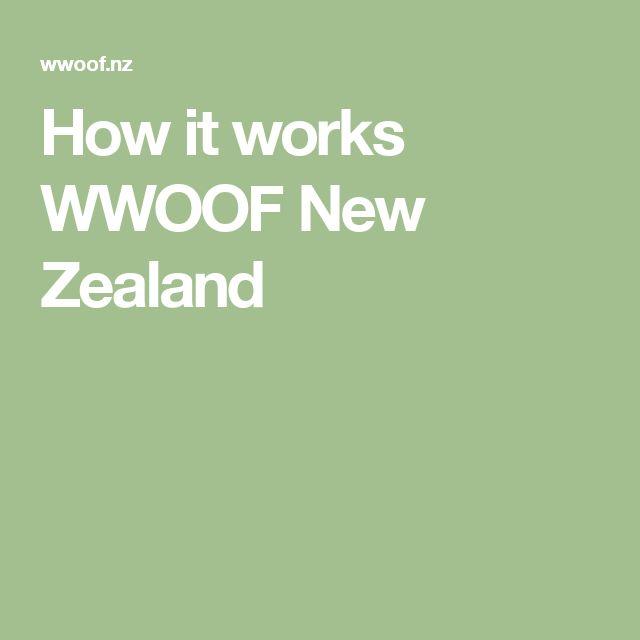 How it works  WWOOF New Zealand