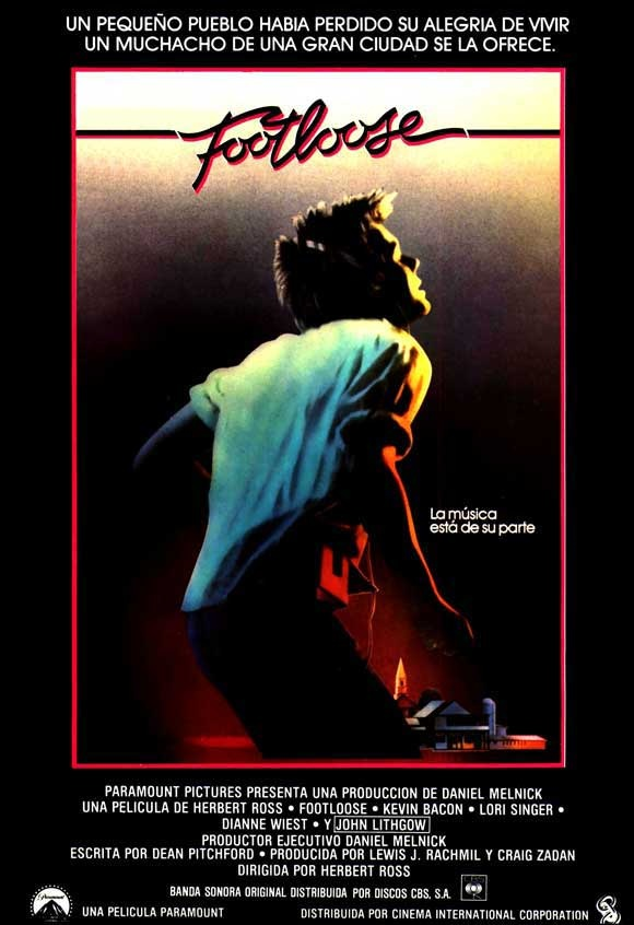 Footloose 1984 Ver Peliculas Peliculas Peliculas De Los 80
