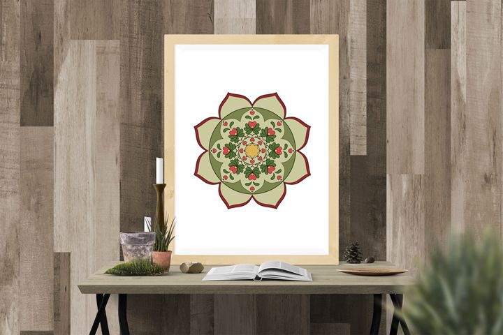 COLORING PAGES WITH HUNGARIAN FLORAL MOTIFS