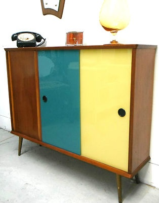Colour scheme and high gloss finish on the brights -for the small wardrobe and lil cabinet.